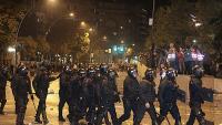 Protestes davant de la subdelegació del govern de Girona la setmana passada