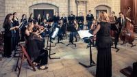 Actuació del cor Barcelona Ars Nova en una de les seves misses polifòniques