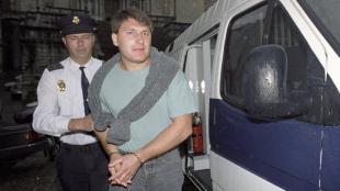 Martí Cots, quan va ser jutjat a Girona per un tiroteig contra la Guàrdia Civil