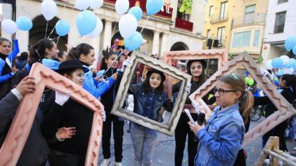 Pregó de les Fires i Festes de la Santa Creu de Figueres, protagonitzat fa uns anys pels nens i nenes del consell d'infants