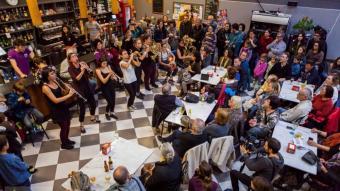 Actuació de Balkan Paradise al Càntut del 2019