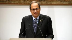 Quim Torra, president de la Generalitat