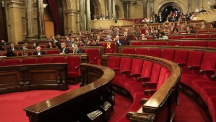 El ple del Parlament de Catalunya aquest dimarts