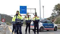 Els mossos desplegats a la Jonquera van anotar matrícules per poder sancionar els cotxes de la protesta