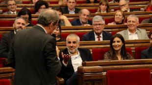 Quim Torra respon als diputats de Ciutadans