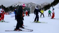 Esquiadors estrenen la temporada a la Masella
