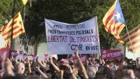 Manifestació per demanar la llibertat dels CDR detinguts el 23 de setembre Manifestació per demanar la llibertat dels CDR detinguts el 23 de setembre