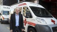 Quitet presideix la institució humanitària de la Creu Roja, a la qual fa més de quaranta anys que està vinculat