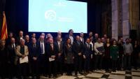 Els distingits amb els Premis Nacionals de Comunicació i les autoritats