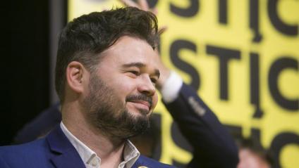 El diputat d'ERC, Gabriel Rufián