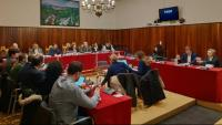 La reunió plenària es va fer ahir amb l'assistència de disset regidors dels 21 amb acta