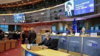 Thierry Breton, comissari designat de Mercat Interior, al Parlament Europeu, a Brussel·les