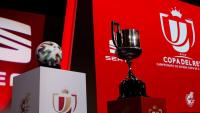 Imatge del sorteig de copa celebrat aquest matí a Las Rozas.