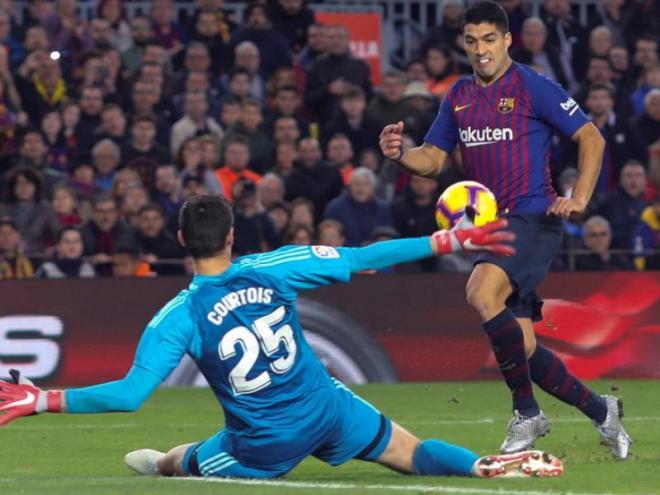 Suárez, contra el Madrid