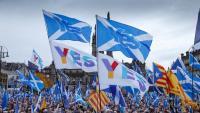 L'última manifestació a Glasgow per demanar un referèndum va recordar Catalunya