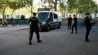 Trasllat d'alguns dels CDR detinguts el 23 de setembre a l'Audiencia Nacional, a Madrid