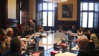 Ahir es van reunir mesa i junta de portaveus