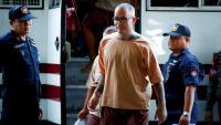 El català Artur Segarra, a l'arribada al tribunal