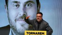 Joan Josep Nuet en un acte durant la recent campanya electoral