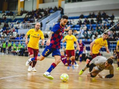 Aicardo va marcar el gol del triomf del Barça
