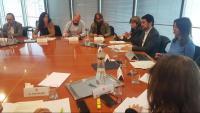 Patronals i sindicats es van reunir ahir amb el conseller per preparar la cimera del gener