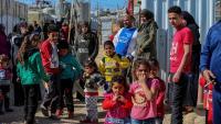 Refugiats sirians al campament de Mohammara, a la província d'Akkar, al nord del Líban