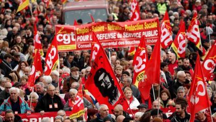 Manifestació a Marsella