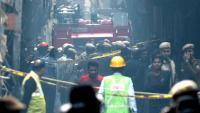 Almenys 43 treballadors morts en un incendi a una fàbrica de l'Índia