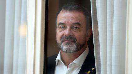 El conseller d'Acció Exteriors, Relacions Institucionals i Transparència, Alfred Bosch