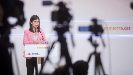 La negociadora d'ERC, Marta Vilalta