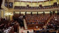 Imatge del Congrés dels Diputats a la sessió constitutiva