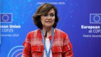 La vicepresidenta del govern espanyol en funcions, Carmen Calvo