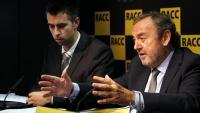 El director tècnic de la Fundació RACC, Marc Fíguls, i el president del RACC, Josep Mateu