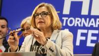 L'exvicepresidenta de la Generalitat, Joana Ortega