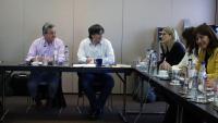 Reunió a waterloo de membres de la Crida amb Carles Puigdemont
