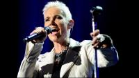 Imatge de Marie Fredriksson durant un concert a Sydney el febrer de 2016