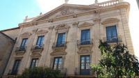 Lp'edifici del Palau Episcopal de Solsona, seu del bisbat