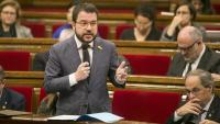 El vicepresident del conseller d'Economia i Hisenda, Pere Aragonès