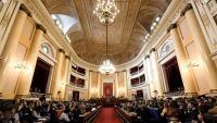 Imatge del Senat durant la sessió constitutiva
