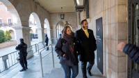 Felip Segura entrant al jutjat de Terol el 19 de novembre