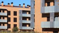 PIsos de la Sareb a Girona, en una imatge d'arxiu