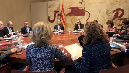 Una reunió del consell executiu