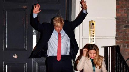 """Boris Johnson obté la majoria absoluta amb un """"mandat poderós per fer complir el Brexit"""""""