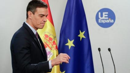 """Sánchez, a Torra: """"Crida l'atenció que qui demana diàleg ara el critiqui"""""""