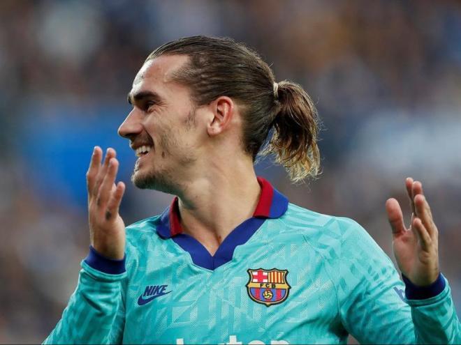 Antoine Griezmann ve de marcar contra la Real, el Mallorca i el Dortmund