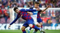 Carles Aleñá i Riqui Puig, dos jugadors del planter que elcursvinent podrien formar part del primer equip del Barça