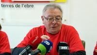Josep Casadó és un dels portaveus de la plataforma Trens Dignes