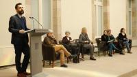 El president del Parlament, Roger Torrent, a les jornades de lideratge femení