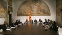 El Palau de la Generalitat acull la tercera reunió de l'Espai de Diàleg