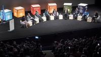 Diversos representants polítics van protagonitzar una taula de diàleg durant la cimera